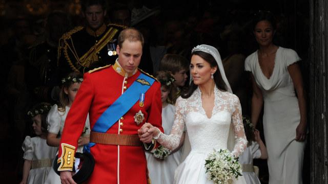 Kate Middleton dan Prince William