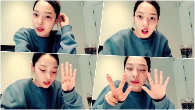 Jeon So-min 'KARD' Rajin Minum Jus agar Cantik Luar Dalam (241256)