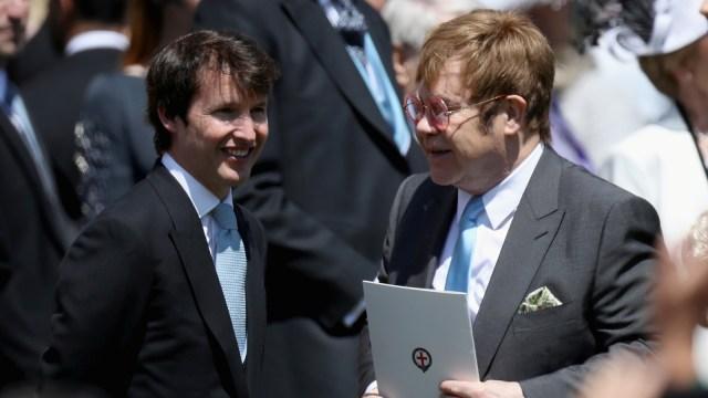 Elton John di Royal Wedding Pangeran Harry