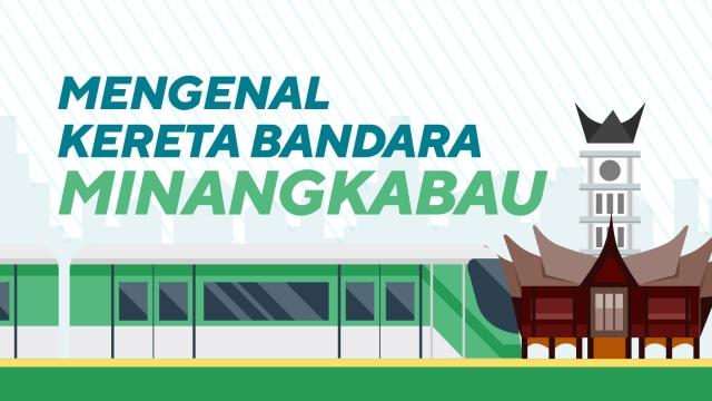 Mengenal kereta Bandara Minangkabau