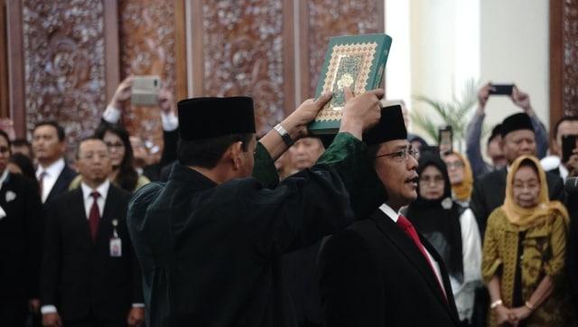 Indra Iskandar Dilantik sebagai Sekjen DPR Baru (252265)