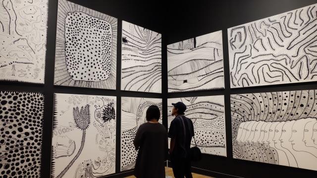 Karya Yayoi Kusama di Museum MACAN