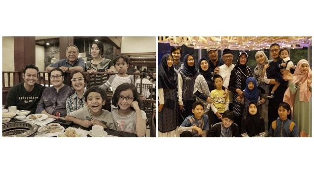 Potret Hangat Keluarga Seleb saat Buka Puasa  (351375)
