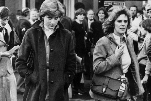 Putri Diana & Camilla Parker Bowles