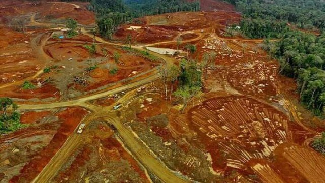 Elegi Petani Morowali di Tengah Deru Buldoser Pertambangan (26044)