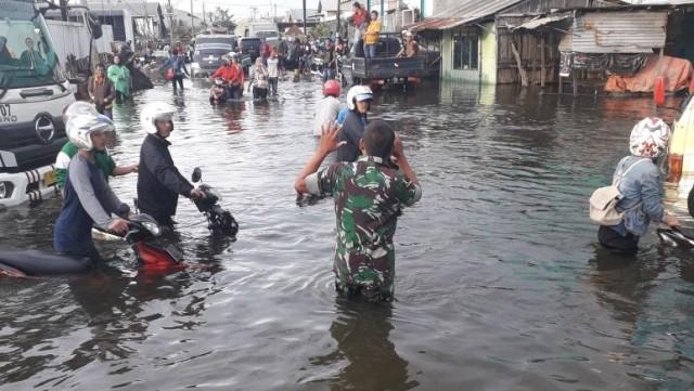 Banjir Besar di Kaligawe, Semarang