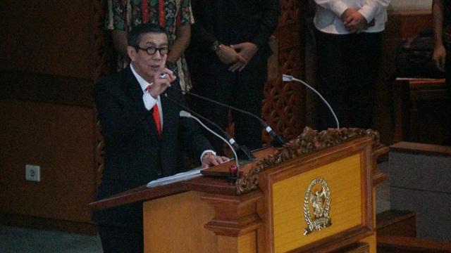Yasonna: Perpres Komando Gabungan TNI Diproses Setelah Lebaran (683190)