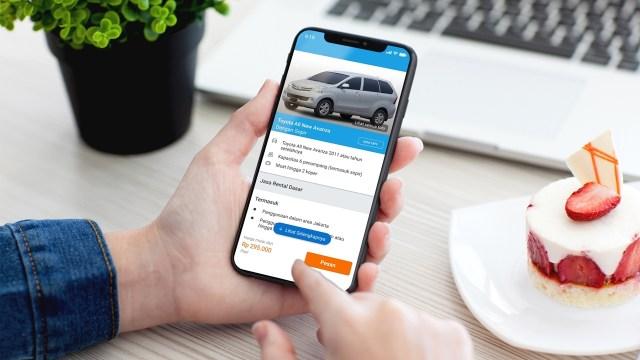 Layanan Rental Mobil Traveloka