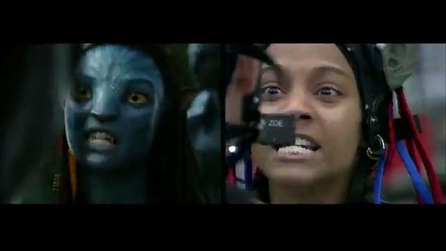 Zoe Saldana di film Avatar