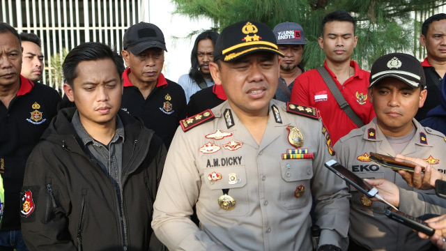 Kapolres Bogor AKBP Andi M. Dicky