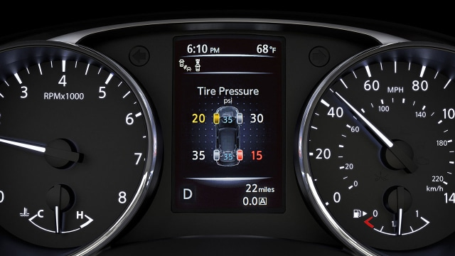 Nissan Tire Pressure Monitoring System