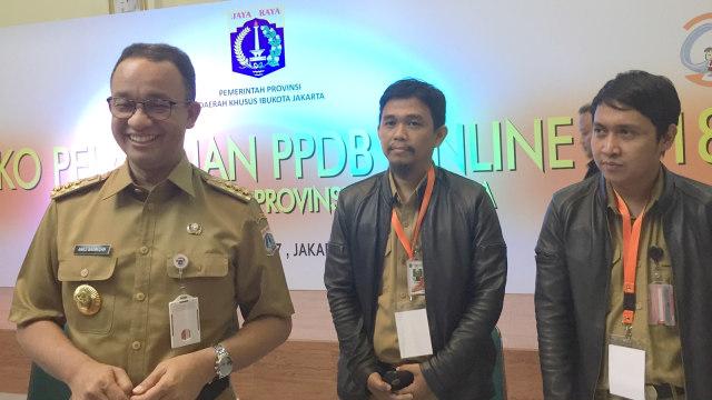 Anies di SMKN 1 Jakarta