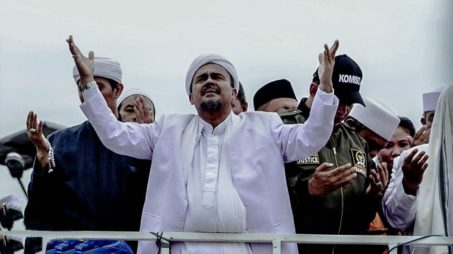 Lipsus Membuka Jalan Pulang Habib Rizieq