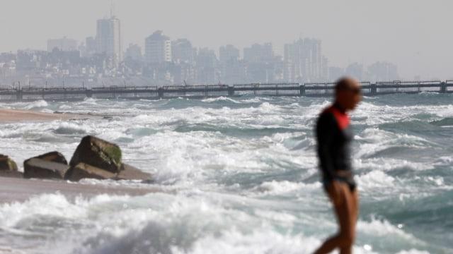 Israel bangun pembatas di perairan Gaza