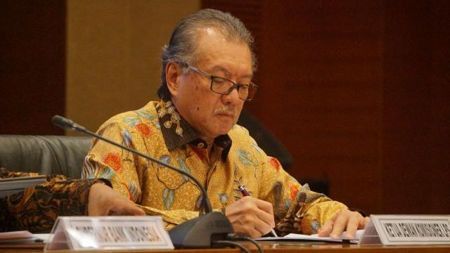 Ketua dewan komisioner LPS Halim Alamsyah
