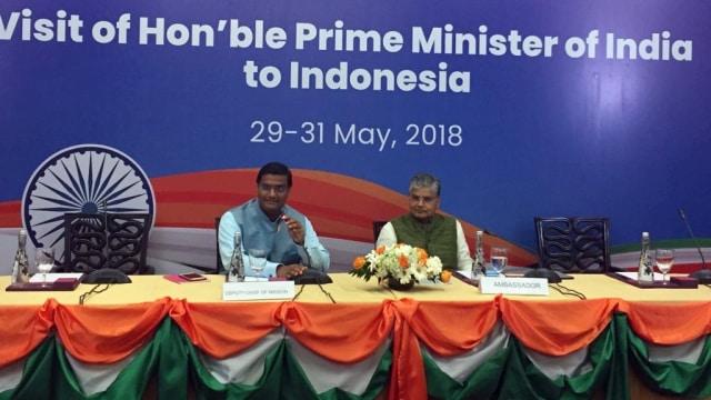 Ekonomi dan Maritim, Topik Utama Pertemuan Jokowi-PM India di Jakarta  (8514)
