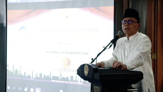 Zulkifli: Pertemuan Jokowi-Amien Bisa Selesaikan Separuh Persoalan (97777)