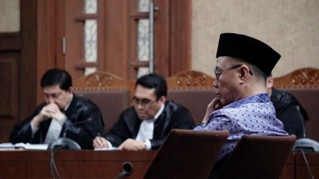Terdakwa Kasus BLBI Minta Sjamsul Nursalim Dihadirkan dalam Sidang (5134)