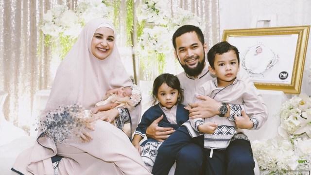Keluarga Teuku Wisnu dan Shireen Sungkar