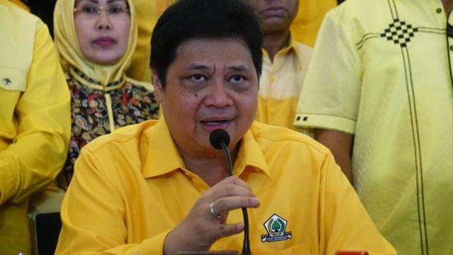 Ketua Umum Partai Golkar, Airlangga Hartarto