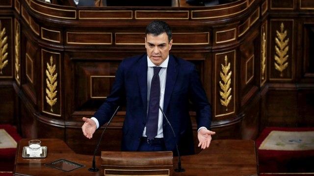 Pedro Sanchez PM Spayol Baru