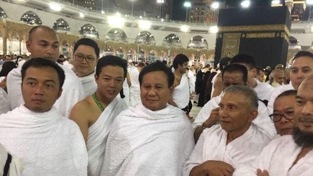 Prabowo Subianto dan Amien Rais