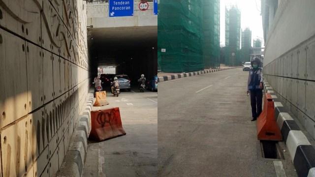 Lubang Underpass Mampang