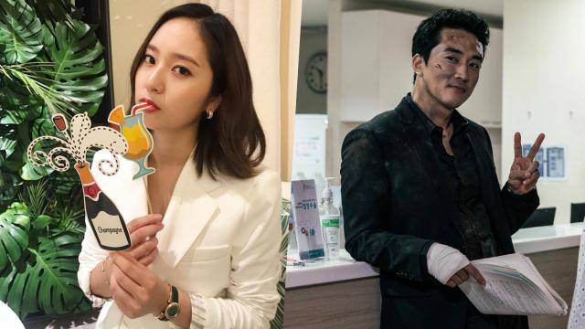 Krystal 'f(x)' dan Song Seung-heon Konfimasi Tampil di Drama 'Player' (100809)