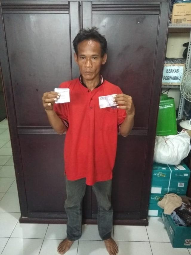 Pelaku pemerasan di Mal Thamrin City (NOTCOV)