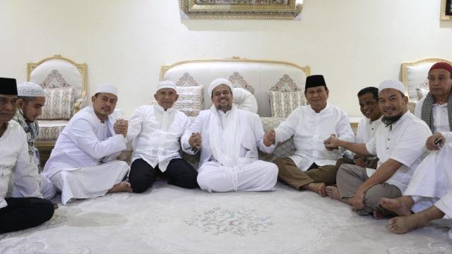 Amien Rais, Prabowo bersama Habib Rizieq di Makkah