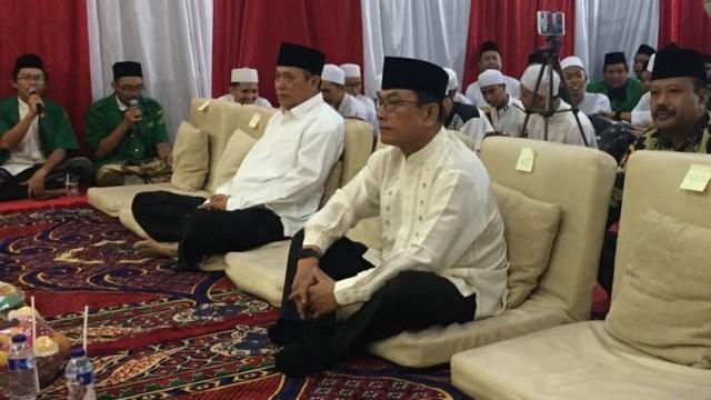 Moeldoko di acara Nuzulul Quran, GP Ansor
