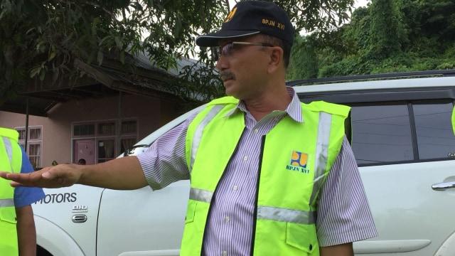 Kepala BPJN, Ambon Satrio Sugeng Prayitno.