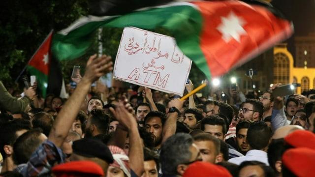 Kerusuhan di Yordania