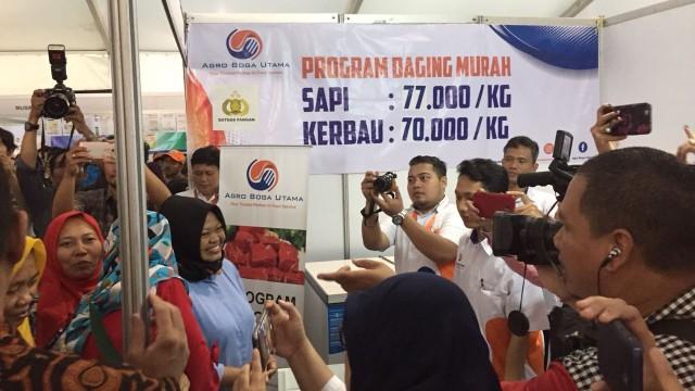Kemendag Gelar Pasar Murah, Harga Daging Sapi Hanya Rp 77 Ribu per Kg (1317167)