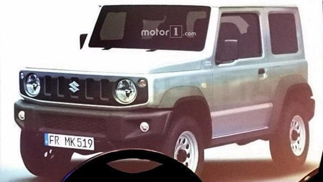 Spyshot Suzuki Jimny Terbaru