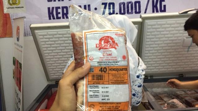 3 Jam, 400 Kg Daging Sapi Rp 77 Ribu/Kg di Pasar Murah Kemendag Ludes  (42902)