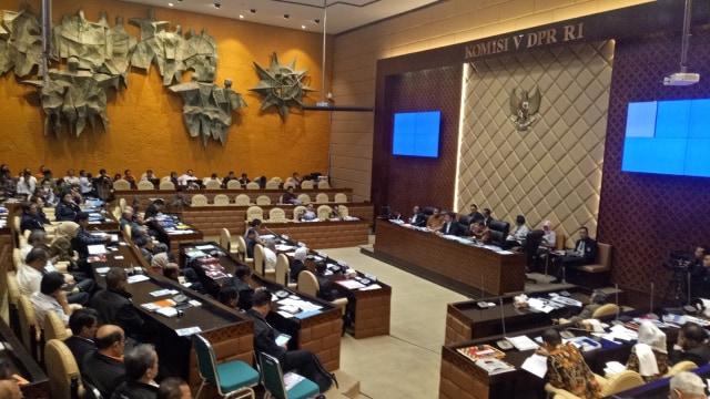Rapat Dengar Pendapat Komisi V DPR RI soal Mudik