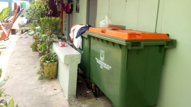 Tempat Sampah 600 Liter Milik Dinas LH DKI