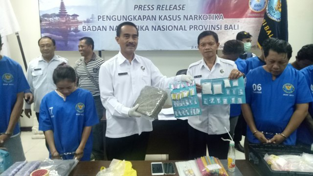 BNNP Bali Tangkap Lima Pengedar Narkoba Jaringan Lapas Kerobokan (194147)