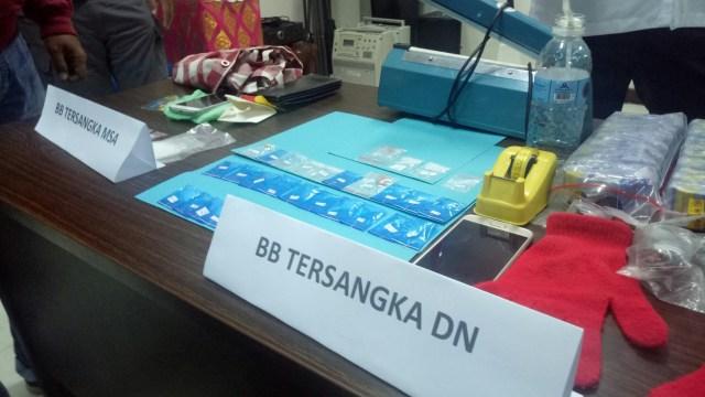 BNNP Bali Tangkap Lima Pengedar Narkoba Jaringan Lapas Kerobokan (194149)