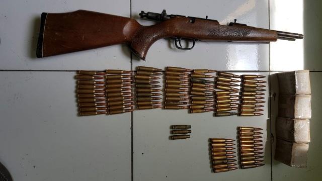 Baku Tembak Dengan Pengedar Sabu di Lhokseumawe