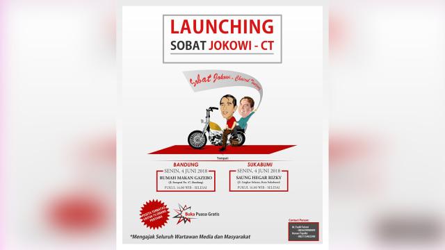 Kelompok Relawan Deklarasikan Dukungan untuk Jokowi-CT di 2019 (113613)