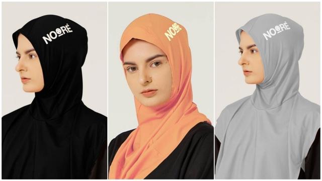 Noore, Brand Hijab Khusus Olahraga Buatan Indonesia (1030741)