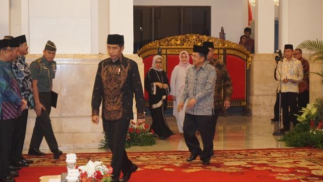 Jokowi dan JK Hadiri Peringatan Nuzulul Quran di Istana Negara (30657)