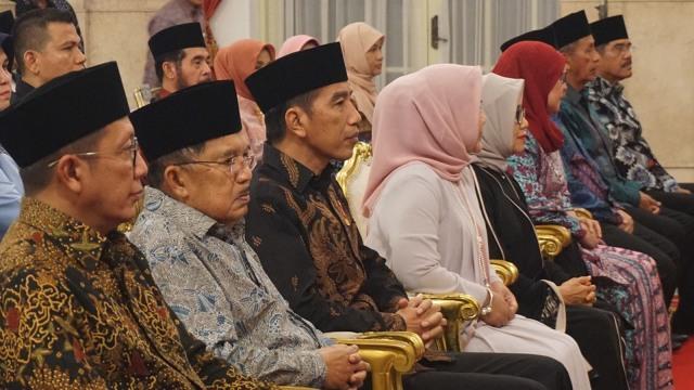 Jokowi dan JK Hadiri Peringatan Nuzulul Quran di Istana Negara (30658)