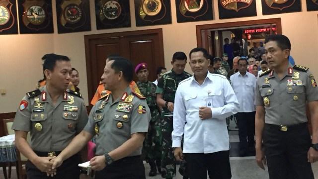 Rapat Koordinasi Pengamanan Idul Fitri 1439 H