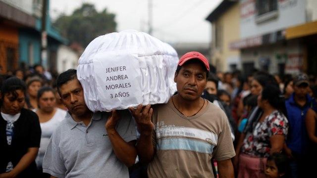 Korban letusan Gunung Berapi Guatemala