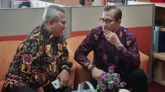 Ketua KPU Arief Budiman di Kemenkumham