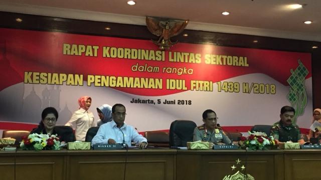 Rapat Koordinasi Pengamanan Idulfitri 1439 H