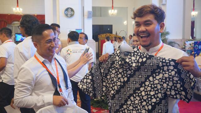Promosi Asian Games 2018 di Istana Negara